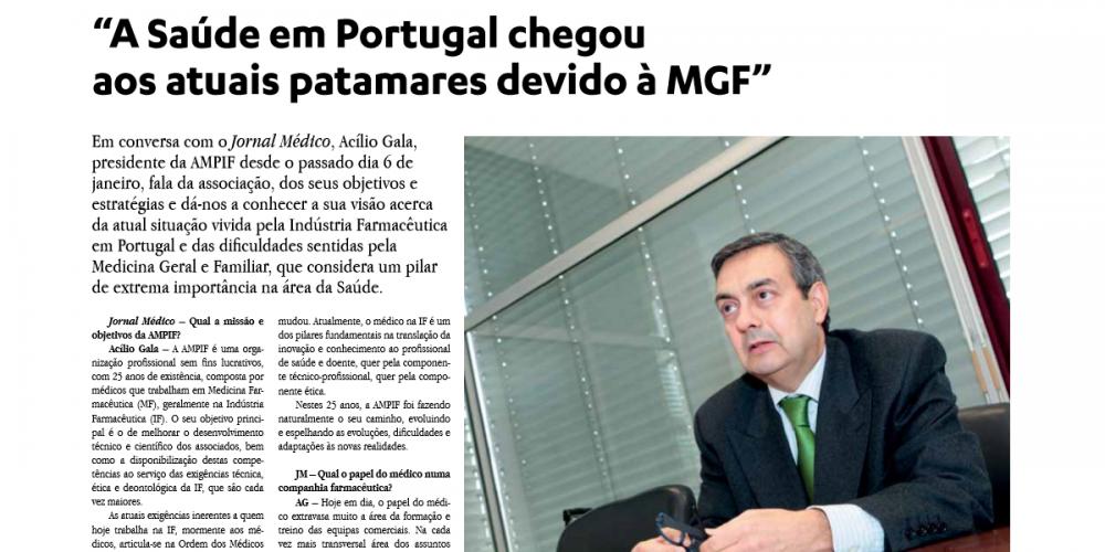 Entrevista ao Jornal Médico